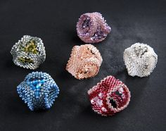 Clips handkerchief (simple) | biser.info - all about beads and beaded works