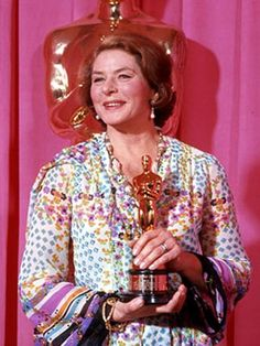 """Ingrid Bergman - Best Supporting Actress Oscar for """"Murder on the Orient Express"""" 1974"""