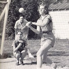 Who's ready for Varsity Softball tryouts this week? #TBT #swingbatterbatter #sportyscotties