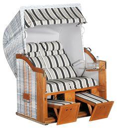 #gartenmöbel #loungemanufaktur #garten #strandkorb #loungemöbel Bunk Beds, Toddler Bed, Furniture, Home Decor, Gliders, Beach Tops, Lounge Furniture, Nursing Care, Pillows