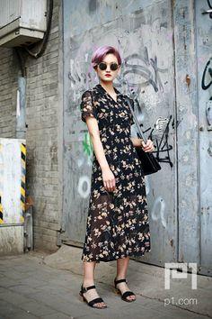 vintage, floral, sunglasses
