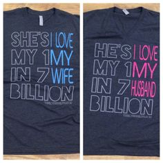 """NEW DESIGN AVAILABLE NOW!!! We are so excited about these new shirts! Go to www.theloveshirts.com and use the code """"pinterest"""" to receive free shipping on orders over $40!!!"""