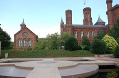 The Moongate fountain in the Enid A. Haupt Garden
