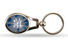 New York Yankees Oval Keychain - Sunset Key Chains
