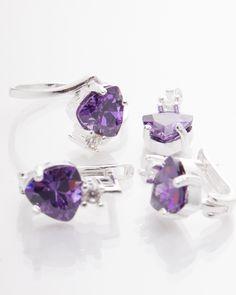 Set argint cod 3-1424, gr9.3 Cod 3, Stud Earrings, Jewelry, Jewlery, Bijoux, Studs, Schmuck, Stud Earring, Jewerly