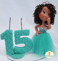 "116 curtidas, 3 comentários - Modeladinho Biscuit (@modeladinhobiscuit) no Instagram: ""Candle I did for Jessica's birthday  15 years old. I liked very much it.  #idid #candlegirl…"""