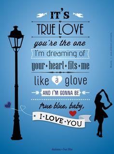 "Madonna - ""True Blue"""