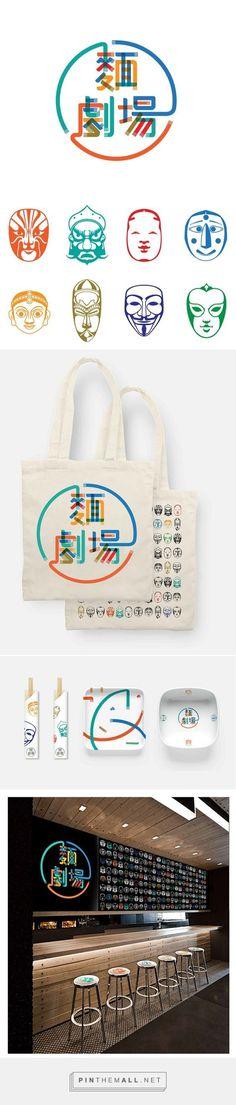 Noodle Theater Branding on Behance | Fivestar Branding – Design and Branding Agency & Inspiration Gallery