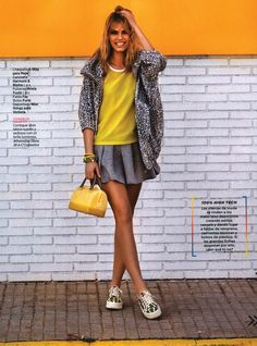 FAY for WOMEN'S HEALTH Spain - 2014. Women's Spring - Summer 2014 collection - Skirt.