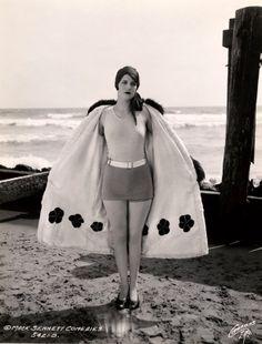 1920s beach cape.