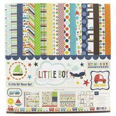 "12"" x 12"" Little Boy Page Kit, $9.99"