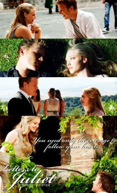 Charlie and Sophie.....Letters to Juliet