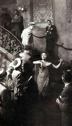"Gloria Swanson in ""Sunset Boulevard"""