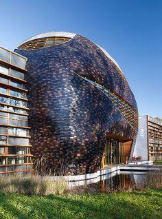 Modern Architecture Netherlands china academy of art, hangzhou, china designedwang shu of