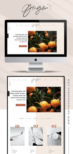 Design a modern and playful website for your business with this easy-to-edit Showit Website Template by Saffron Avenue. Shop all of the modern and professional layout designs at Website Design Inspiration, Website Design Layout, Design Blog, Layout Design, Blog Layout, Website Designs, Web Layout, Design Web, Brand Design