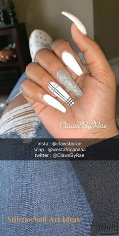 30 Great Stiletto Nail Art Design Ideas 1 Nails Source by NailiDeasTrendscom . Acrylic Nails Natural, Summer Acrylic Nails, Best Acrylic Nails, Summer Nails, Coffin Acrylic Nails, Summer Stiletto Nails, Aycrlic Nails, Swag Nails, Jolie Nail Art