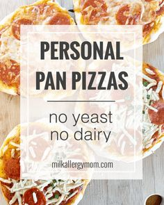 Over the years, our dairy-free pizza night has quite evolved. First we started with homemade pizza. Then we took the easier route, building pizzas Top Recipes, Dairy Free Recipes, Snack Recipes, Snacks, Dairy Free Pizza, Milk Allergy, Recipe For Mom, Vegan Cheese, Food Allergies