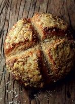 Irish Farmhouse Cheese and Oat Soda Bread - St Patricks Day Traditional Recipes - Foodepedia