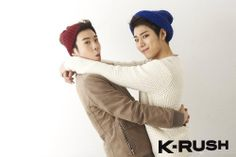 [PHOTOS] Block B in K-RUSH Magazine vol.10 I love these two PO and Zico