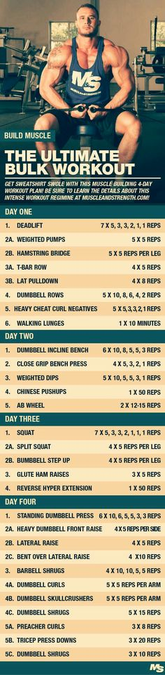 The Ultimate Bulking Workout Plan