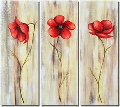 Flower Paintings On Canvas | Shopping all flower paintings for sale