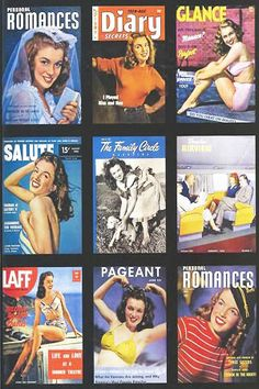 1940s: Young Marilyn Monroe on the cover of various vintage magazines .... #normajeane #vintagemagazine #pinup #iconic #raremagazine #magazinecover #hollywoodactress #monroe #marilyn #1940s