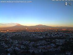 Popocatepetl, visto desde Puebla, Pue.