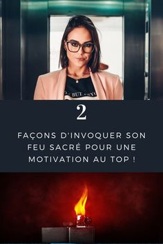 🔥#feusacré #motivation #hack  2 méthodes que j'utilise pour invoquer mon feu sacré et maintenir une motivation au top ! 💪🏼 Ça marche plutôt bien ! Consultant, Hacks, Motivation, It Works, Fire, Glitch, Cute Ideas, Daily Motivation, Inspiration