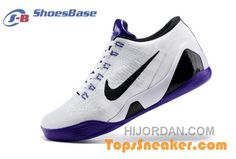 newest d459a f9201 Good Quality Mens Nike Zoom Kobe IX 9 Low Elite ID White Black Blue  Recruiting Top Deals RNwcxeh, Price   69.99 - Air Jordan Shoes, Michael  Jordan Shoes