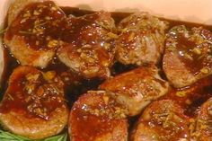 Get Pork Medallions with Balsamic-Honey Glaze Recipe from Food Network