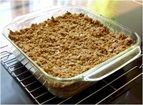 Passover Apple Crisp recipe - from the Addie's Cookbook Family Cookbook Gluten Free Crisps, Gluten Free Oats, Lactose Free, Strawberry Rhubarb Crumble, Baking With Coconut Oil, Apple Crisp Recipes, Dairy Free Recipes, Vegan Recipes, Meal Planning