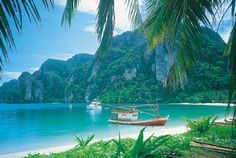 The beaches of Thailand