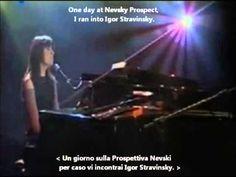 Alice - Prospettiva Nevsky (Nevsky Prospect) with Lyrics and English Tra...