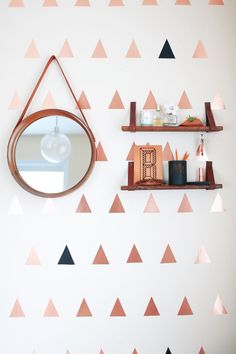 Get organized with these leather shelves. 6 Ways to Rock all things Leather. Get your creative juices flowing with these leather DIY ideas from fashion to decor.