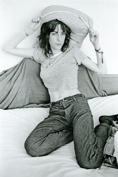 Patti Smith photographed by Judy Linn