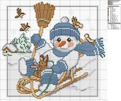 > Christmas - cross stitch patterns -2 / new year - crossed the job templates -2 «rusensdiary: