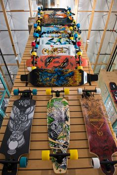 We've got the new 2013 Landyachtz longboards in!! check it on wiredsport.com