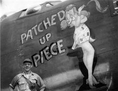 """B-24 """" PATCHED up PIECE """""""