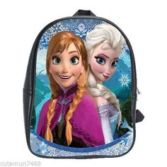 Brand New Disney Frozen Anna And Elsa School Bag Backpacks X-Large (XL) Size B