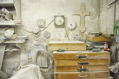 The Tools of a Venice Stone Masonry # 00 by Glenn Capers