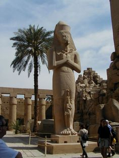 Beautiful statue in Egypt