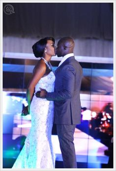 Mai Atafo Dream Wedding 2 The Grandeur Collection- (360nobs.com) Chris Attoh and Isio Wanogho magical kiss - More pictures here - http://www.360nobs.com/2013/06/mai-atafos-unveils-his-grandeur-wedding-collection-at-dream-wedding-ii-weve-got-all-the-gorgeous-wedding-photos/