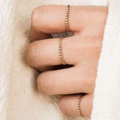 Dainty Stacking Rings | Simple & Dainty Delicate Rings, Dainty Ring, Gold Plated Rings, Gold Rings, Diamond Ring Cuts, Diy Beaded Rings, Tiny Rings, Eternity Bands, Everyday Rings
