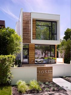 OUTSIDE wood texture (LG House - Thirdstone Inc.)