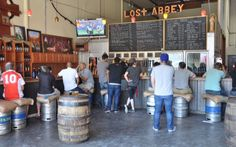 Tasting Room at Lost Abbey in San Marcos.