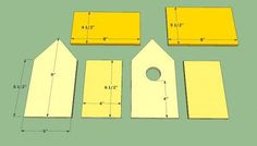 Free Birdhouse Plans for Cardinals Lovely Bird House Building Plans Wooden Bird House Plans Free Bird House Plans Free, Bird House Kits, Wooden Bird Houses, Bird Houses Diy, Bird Houses Painted, Building Bird Houses, Building A House, Martin Bird House, Home Building Tips