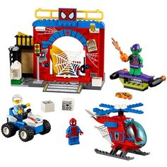 LEGO Juniors Spider-Man Hideout 10687 Toy, Marvel Legends         >>> Check this awesome product by going to the link at the image. (This is an affiliate link) #ToysGames