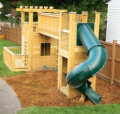 When it came time to transform our backyard from open ground to playground, we wanted to build a play set that would grow with our kids and remain solid for many years. Theresa designed the structure, and I worked in some construction techniques to make it safe and easy to assemble.