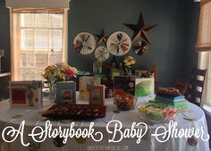 A Storybook Baby Shower #DIY