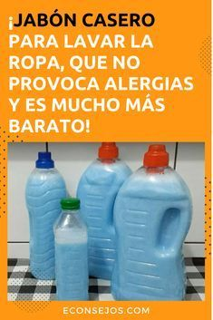 Como hacer jabón para lavar ropa Organic Cleaning Products, Natural Cleaners, Diy Cleaners, Green Cleaning, Green Life, Home Hacks, Bath Bombs, Soap Making, Clean House